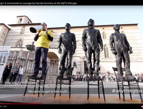 Anything to Say? a monument to courage Perugia Aprile 2016